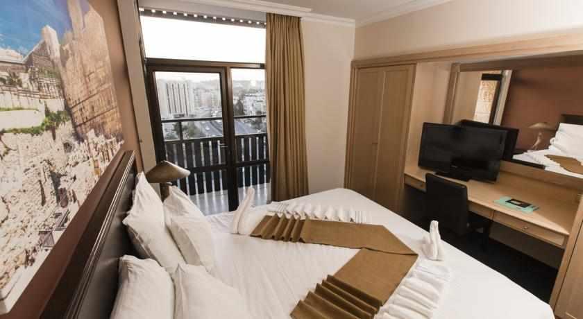 חדר זוגי מלון גני ירושלים
