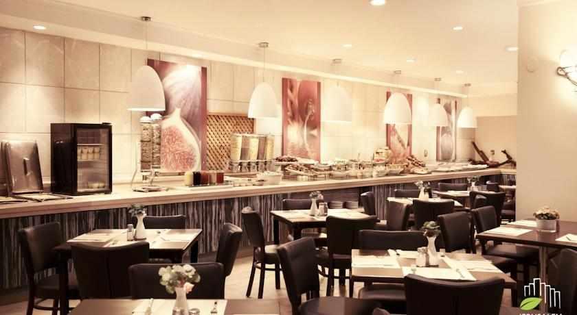 חדר אוכל מלון גני ירושלים