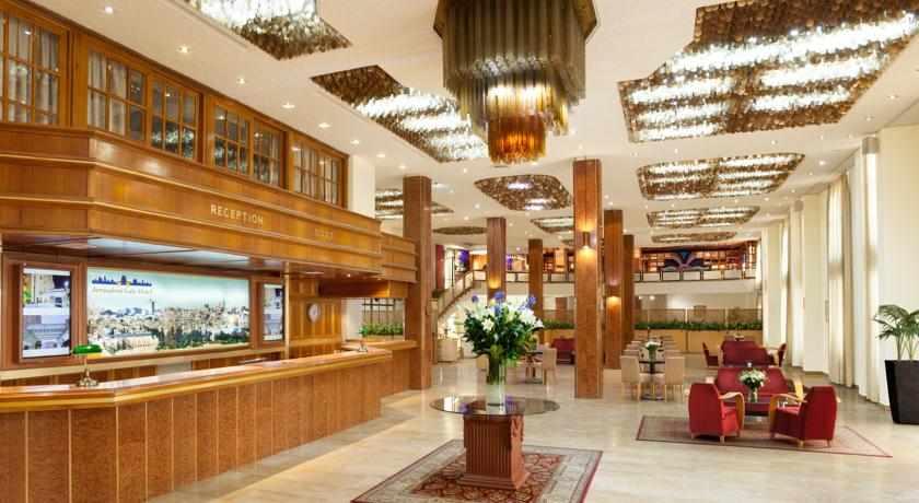 קבלה מלון שערי ירושלים