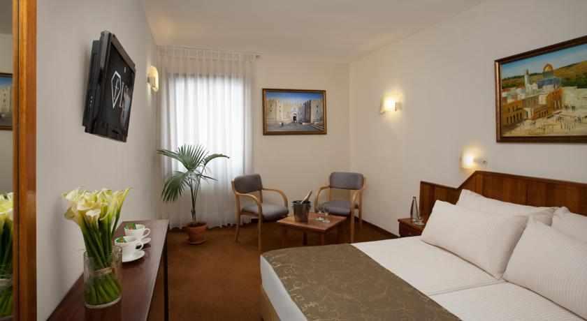 חדר זוגי מלון שערי ירושלים