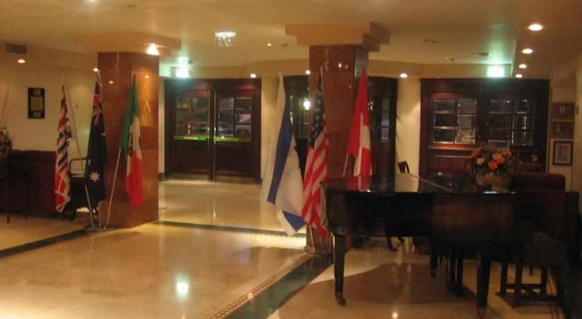 כניסה למלון ג'רוזלם גולד