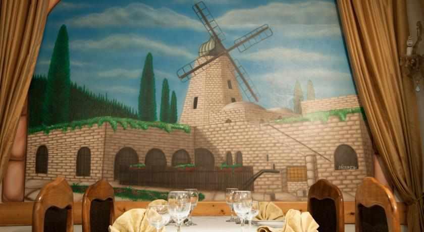 חדר אוכל מלון ג'רוזלם גולד