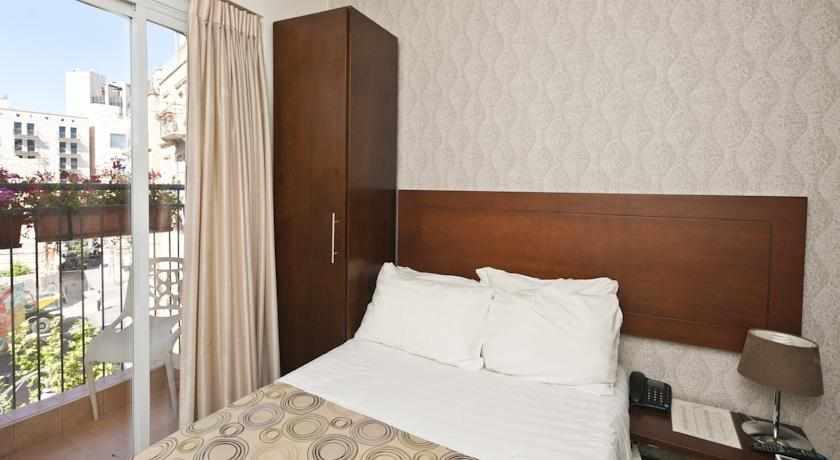 חדר נוף לעיר מלון ג'רוזלם אין