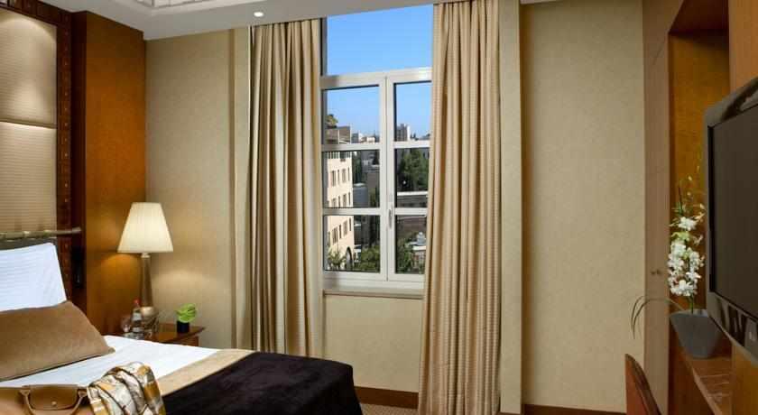 חדר נוף לעיר מלון המלך דוד