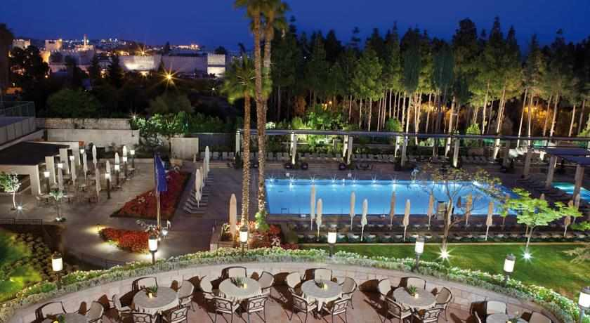 בריכה מלון המלך דוד